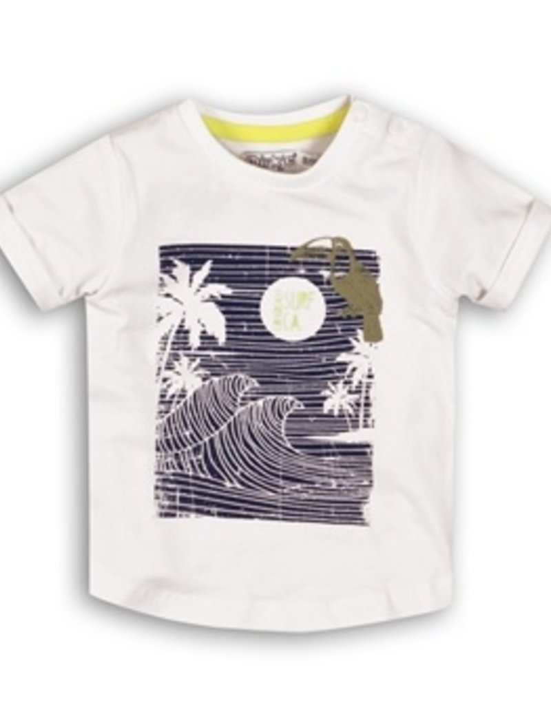 Dirkje Baby t-shirt black white
