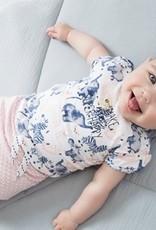 Dirkje Tweedelig babypakje pink
