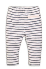 Dirkje Baby trousers light blue melee stripe