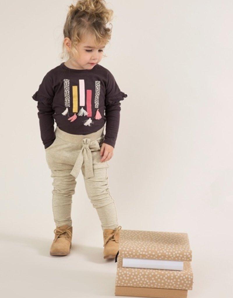 Dirkje Baby t-shirt dark brown