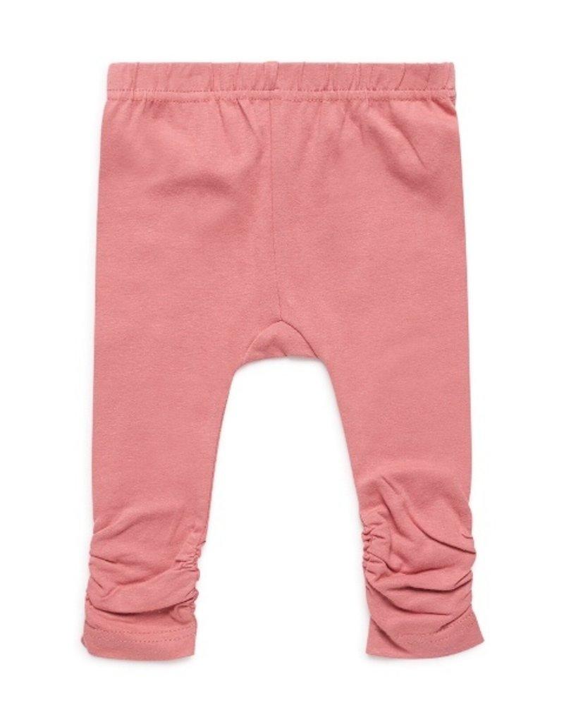 Dirkje Baby legging dark old pink