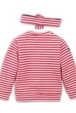 Dirkje Baby sweater red/pink + headband