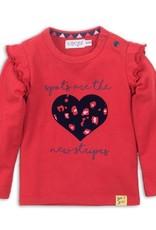 Dirkje Baby t-shirt rood