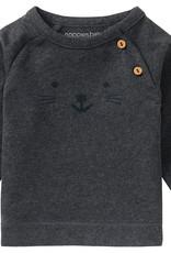 Noppies t-shirt Arlington Charcoal Melange