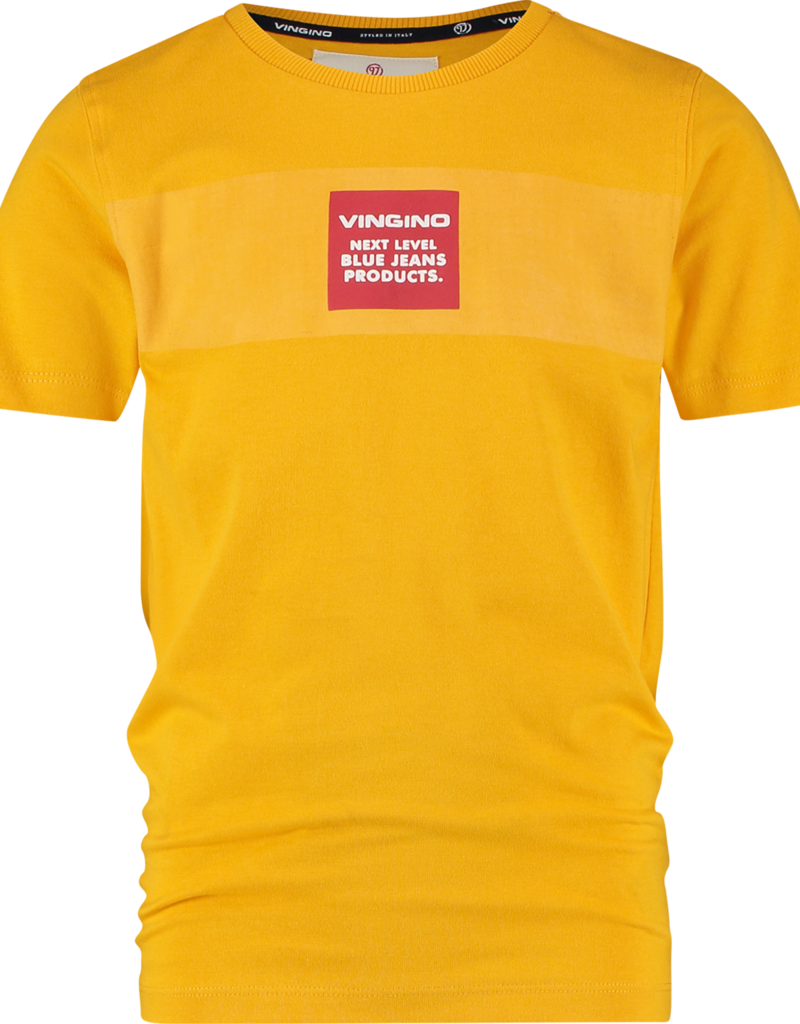 Vingino t-shirt Heranos Gold Yellow
