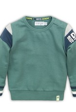 Dirkje Baby sweater dusty green
