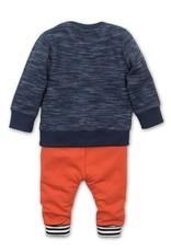 Dirkje Babysetje navy + red+ grey