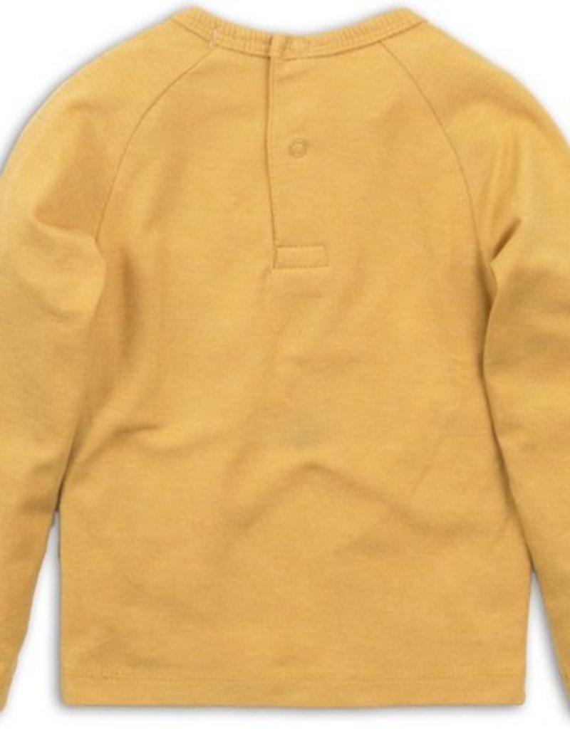 Dirkje t-shirt ochre yellow