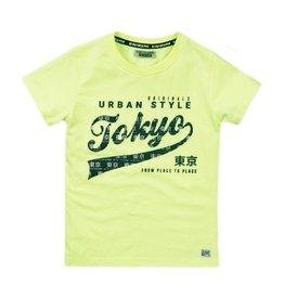 DJ Dutch Jeans T-shirt neon yellow