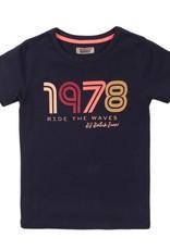 DJ Dutch Jeans t-shirt navy 1978