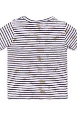 Dirkje T-shirt Navy stripe
