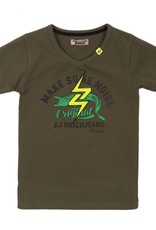 DJ Dutch Jeans T-shirt make some noise army green