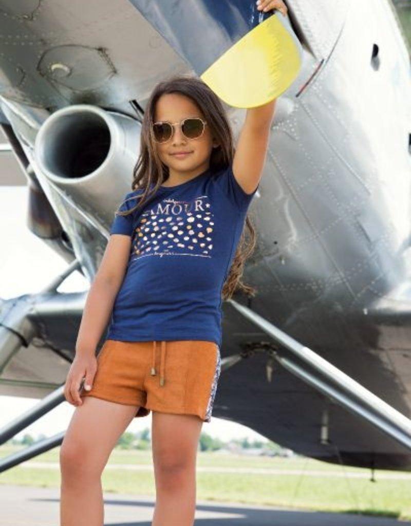DJ Dutch Jeans Tshirt l'amour Navy