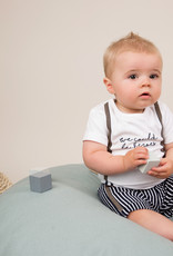 Dirkje Tweedelig babysetje white en navy