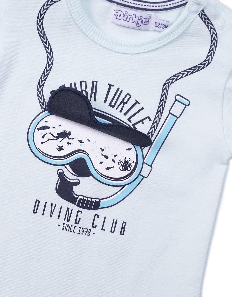Dirkje Baby t-shirt scuba