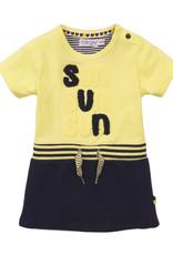 Dirkje Baby jurkje navy-yellow