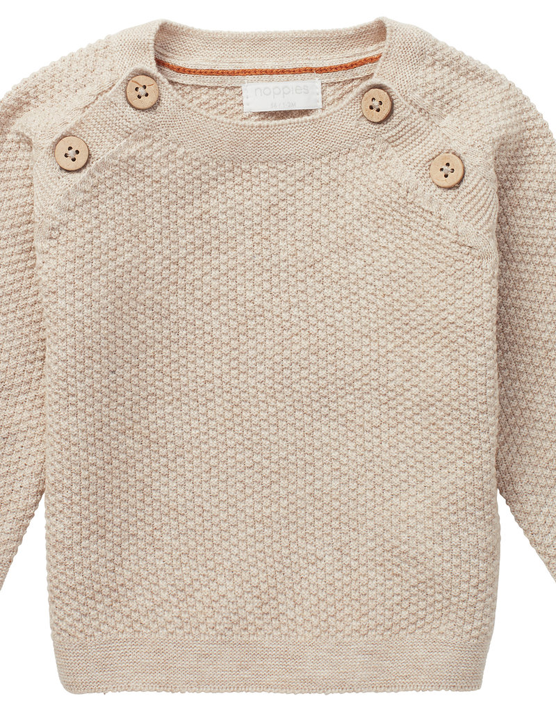 Noppies Pullover Staines sand melange