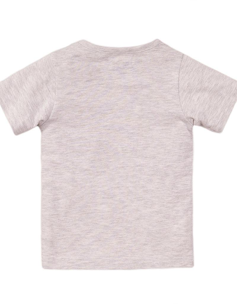 Dirkje Shirtje Panda grey melange