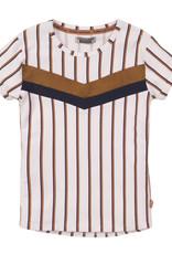 DJ Dutch Jeans T-shirt white + stripe