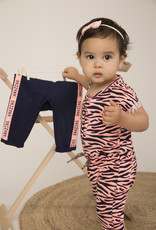 Dirkje playsuit peach + navy