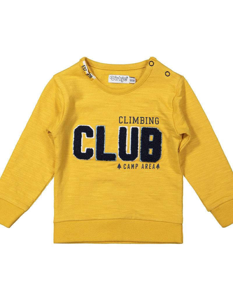 Dirkje Baby sweater ochre