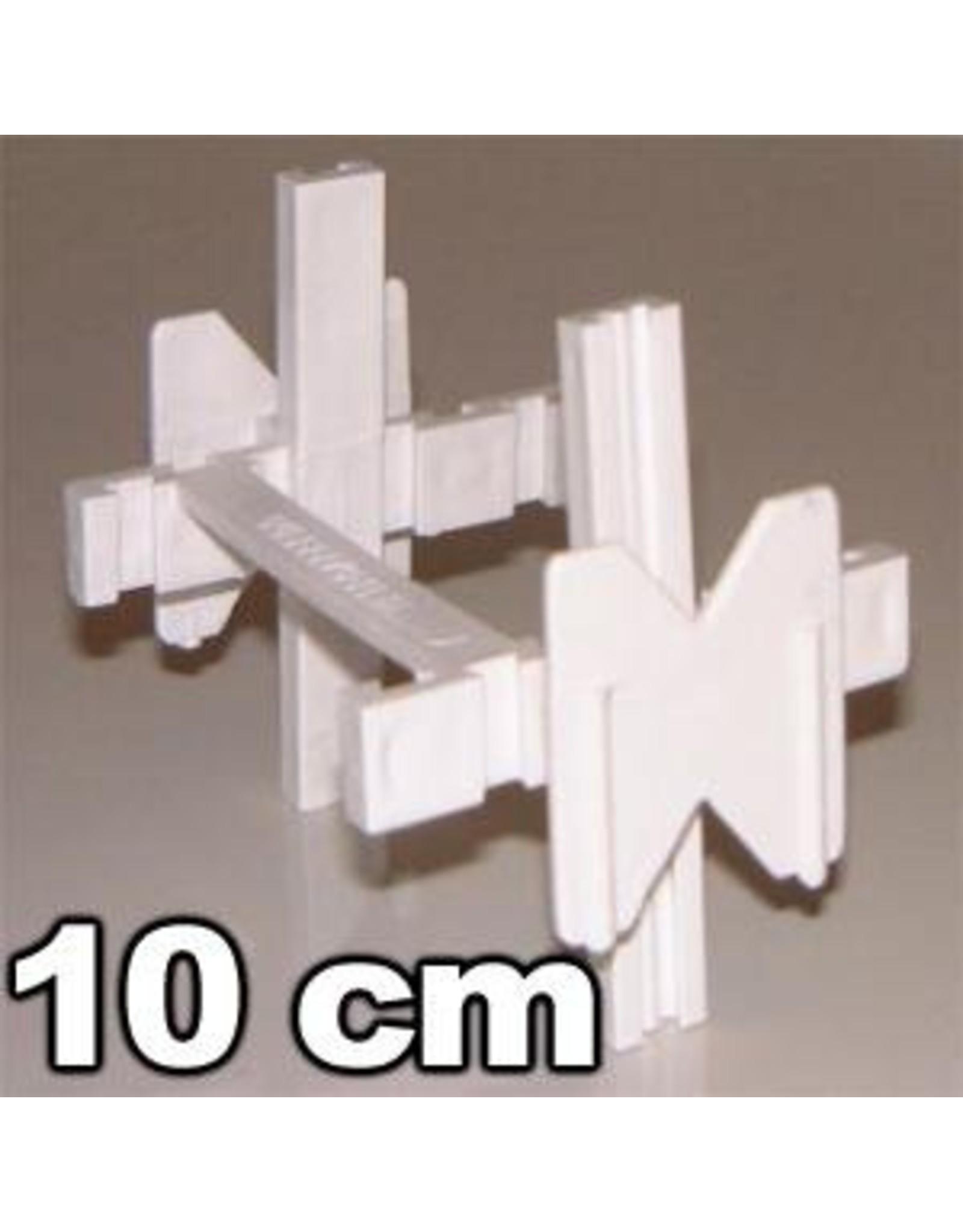 Verlege kreuze 10cm 25stuck