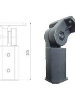 LedLed Lantaarnpaal beugel t.b.v. 60mm pijp
