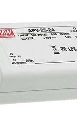 LedLed Led Voeding Meanwell DC12 of 24V 35W