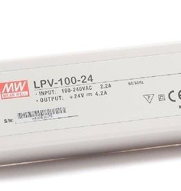 LedLed Led Voeding Meanwell DC12 of 24V 100W