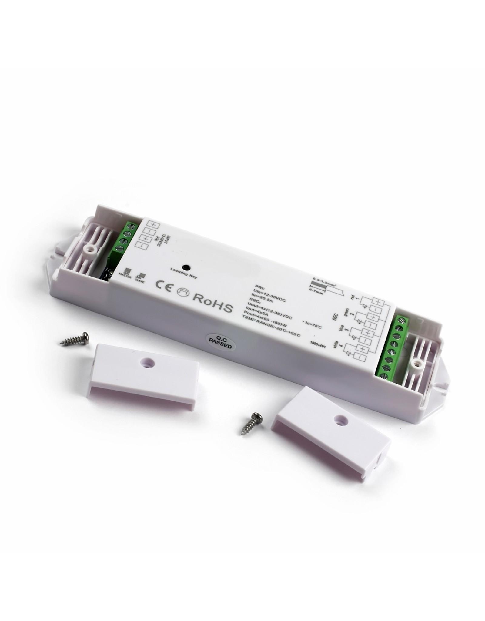 LedLed Led Dim unit 4x700ma t.b.v. afstandsbedieningen.