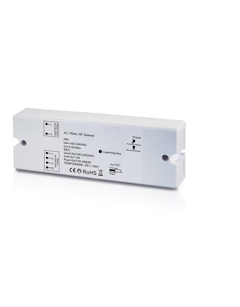 LedLed Led Dim unit AC230V 2x288W t.b.v. afstandsbedieningen.