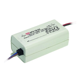 LedLed Led Voeding Meanwell DC12 of 24V 16W