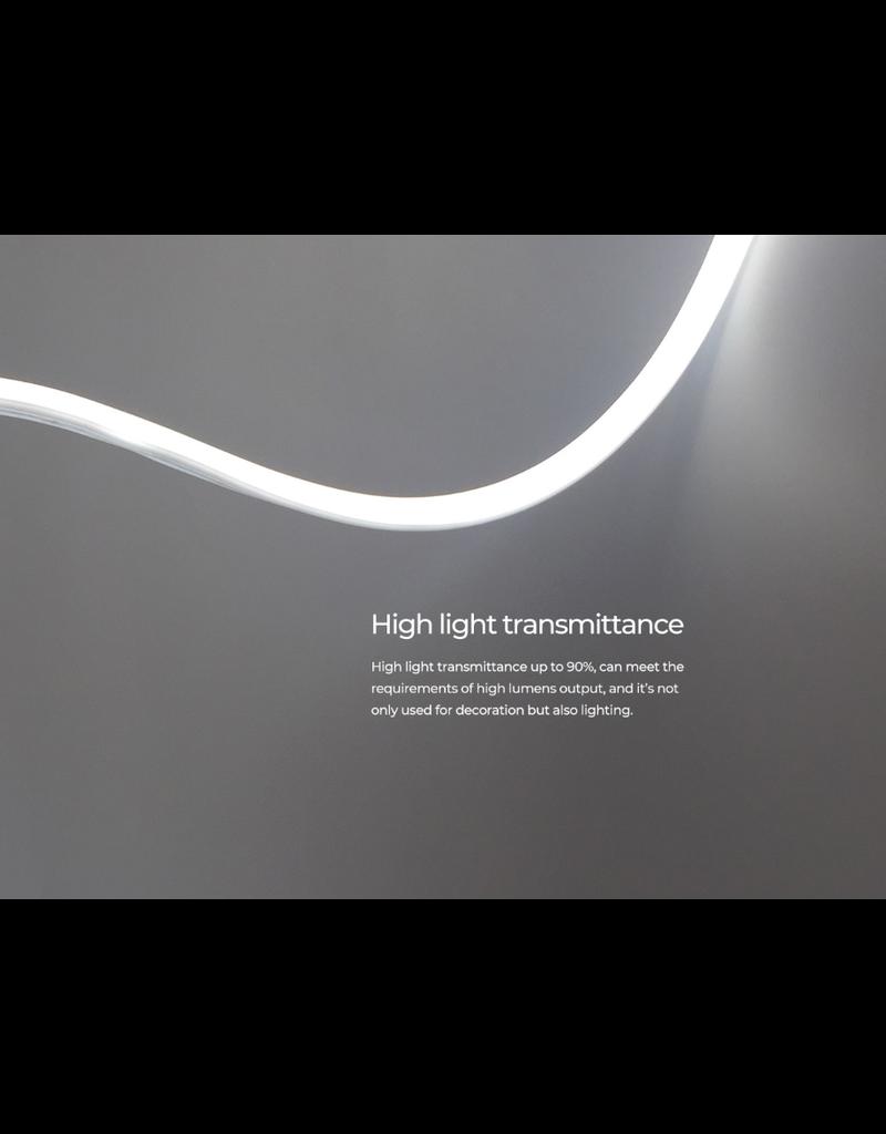 LedLed Neon flex LED strip 2700k 24V 8W/m 10mm (5 meter)