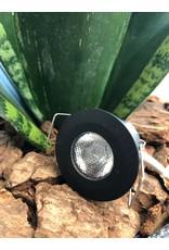 LedLed Ally mini LED spot rond zwart
