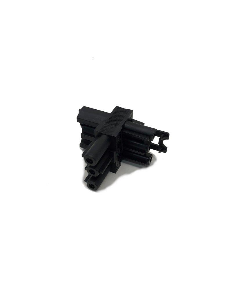 GST T-splitter 3 polig