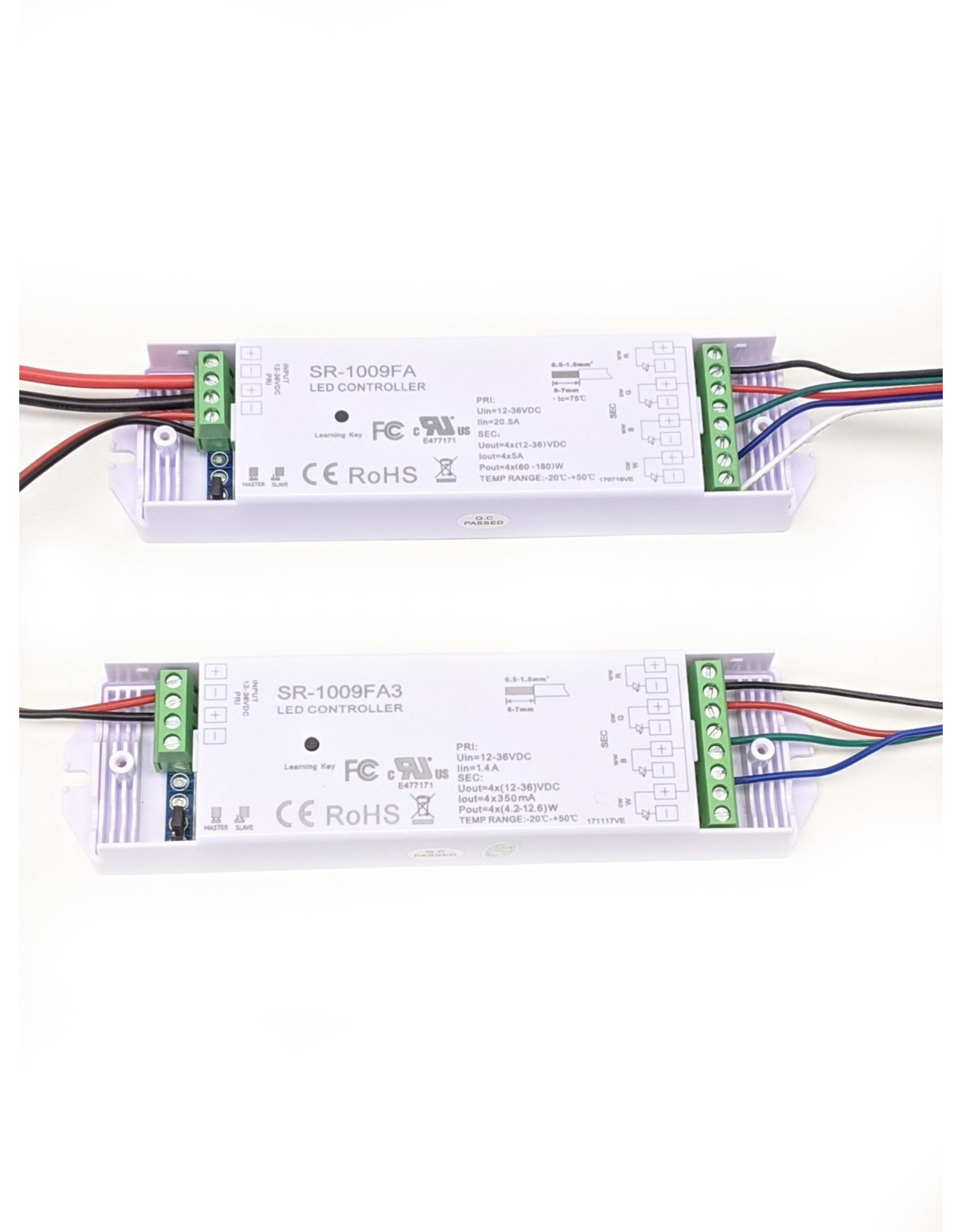LedLed Varo Led strip RGB  24V 19,2W/m 10mm (5 meter)