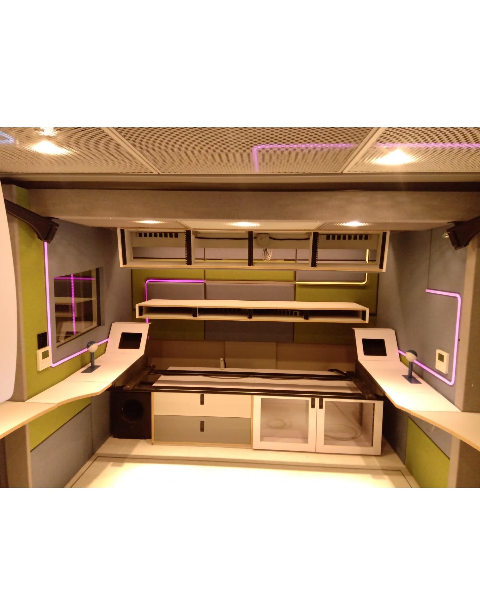 LedLed Neon flex LED strip RGB 24V 12W/m 12mm breed 17mm hoog (5 meter) IP68