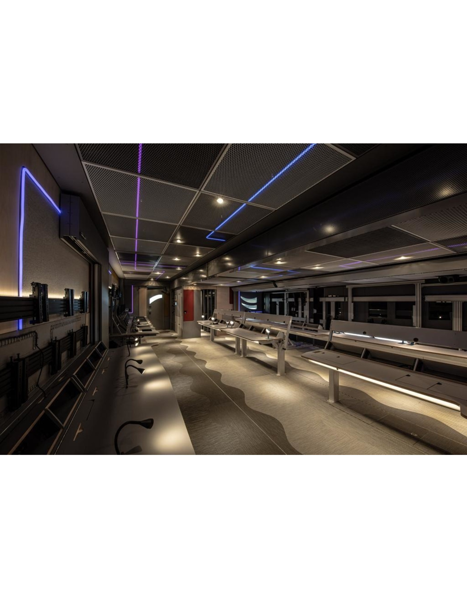 LedLed Neon flex LED strip RGB 24V 12W/m 12mm breed 24mm hoog (5 meter) IP68