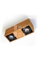 Trimless LED Light Dubbel- Wooden Design