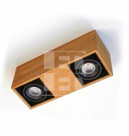 Trimless LED Light Dubbel- Wooden Design