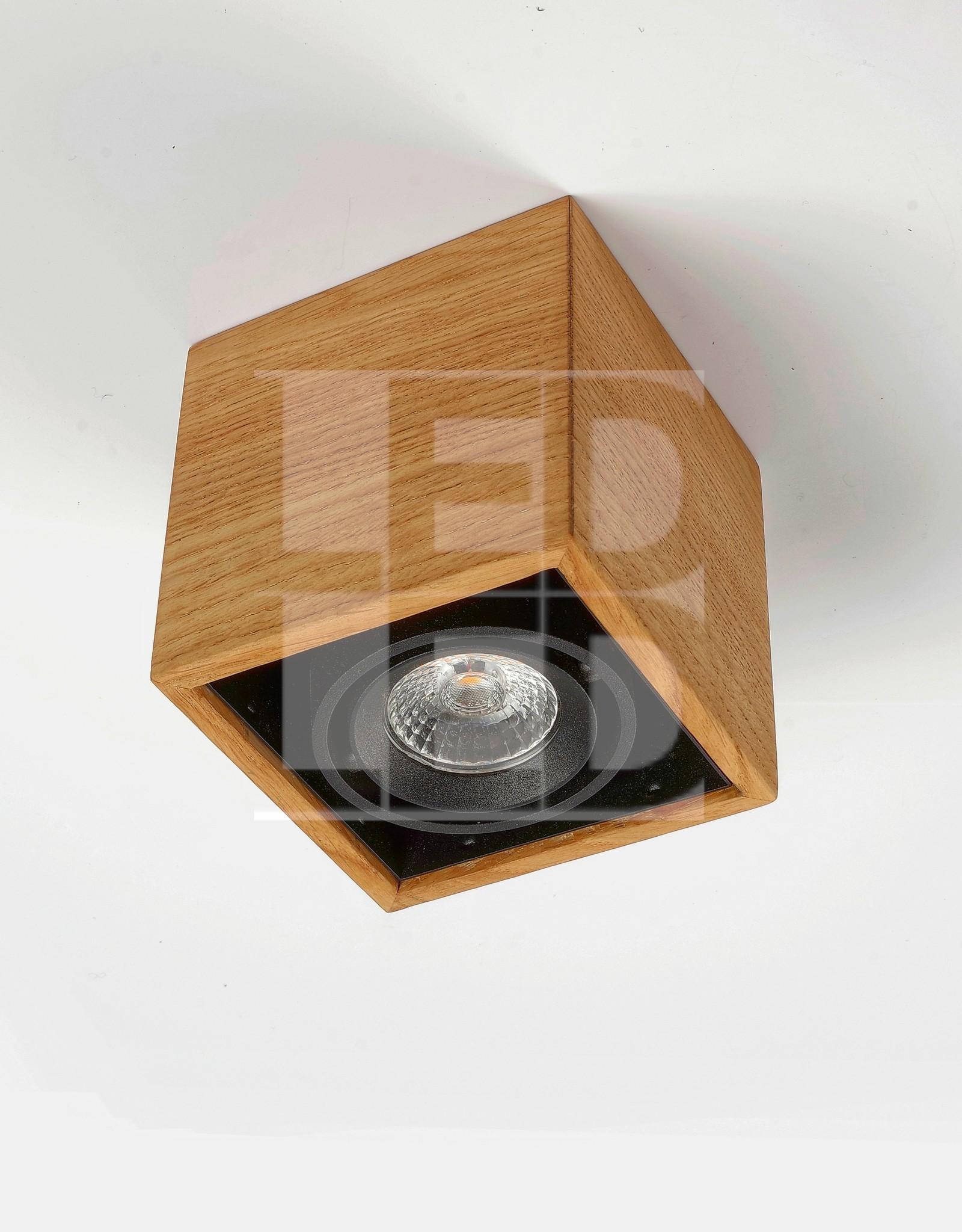 Trimless LED Light Enkel - Wooden Design