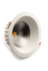 LedLed Glare Dowlight 4000k 192mm 8-20W gatmaat 165mm