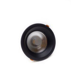 LedLed Glare Dowlight ZWART 3000k 230mm 8-35W