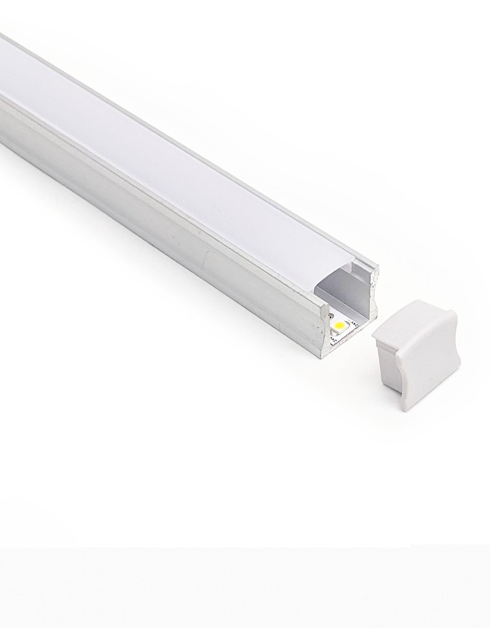 LedLed Aluminium opbouw profiel 15mm - Pro