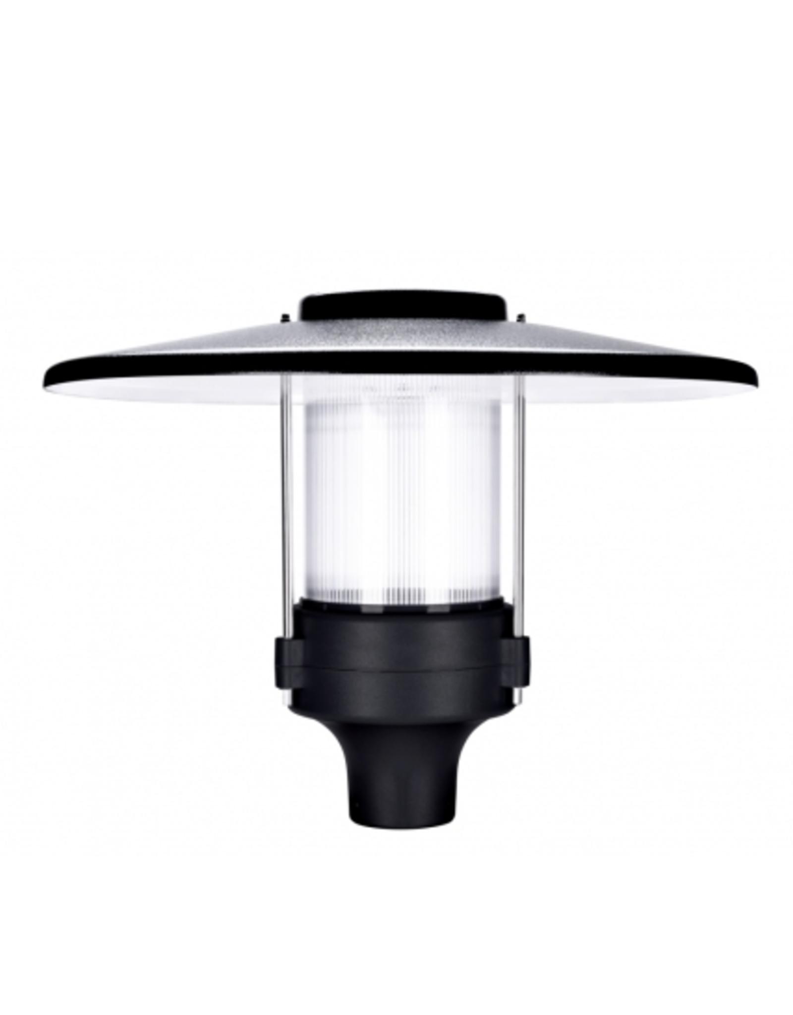 Promled lantaarn lamp 30W zwart/grijs 4000k IP67