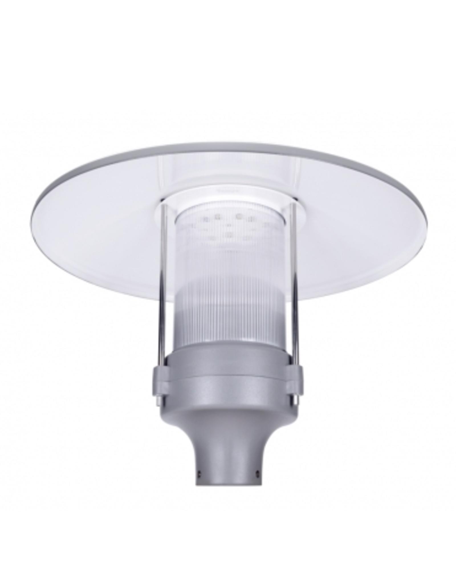 Promled lantaarn lamp 60W zwart/grijs 4000k IP67