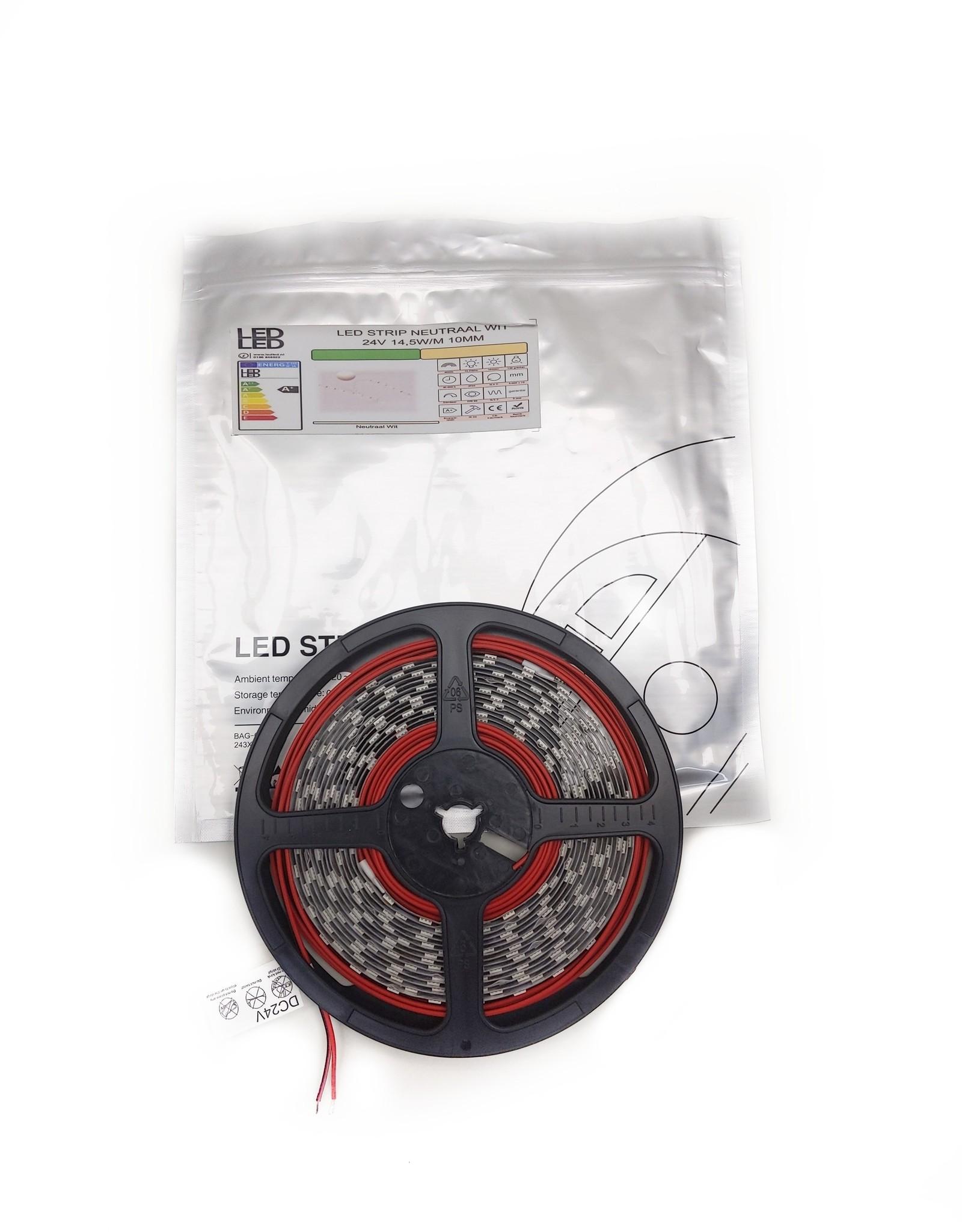 LedLed Varo led strip | 5m | 4000k | 24V | 14,4W/m | 10mm
