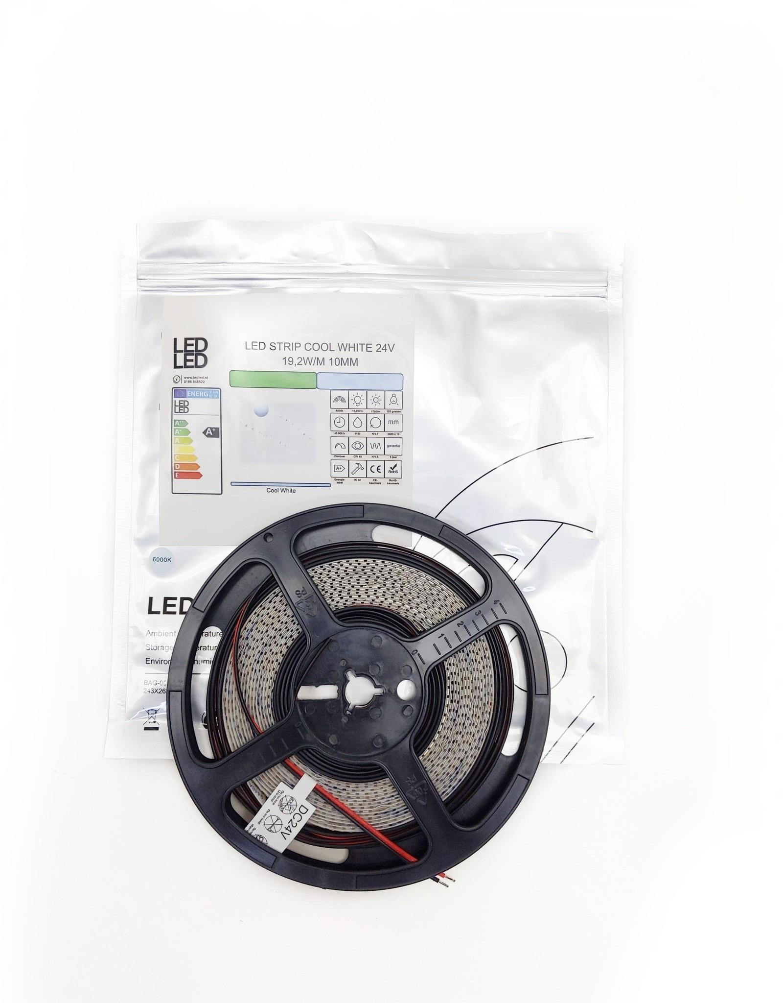 LedLed Varo led strip   5m   6000k   24V   19,2W/m   12mm