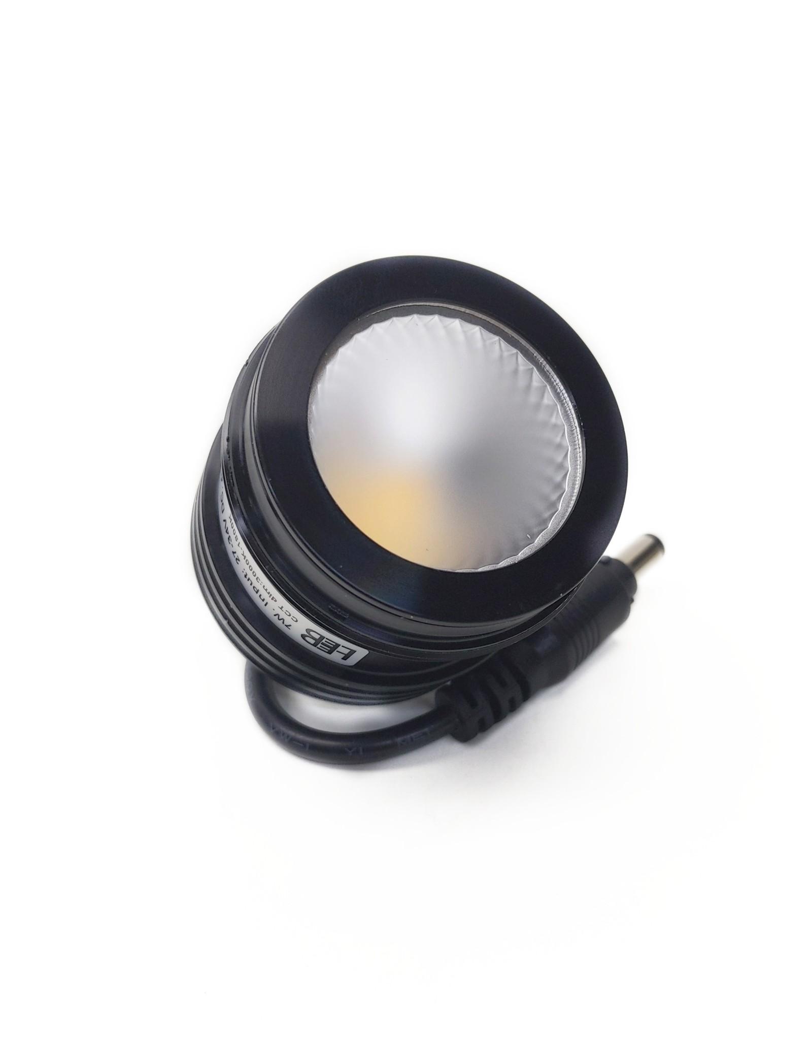 LedLed ADDY led kantelspot vierkant goud dimbaar - Pro reflector