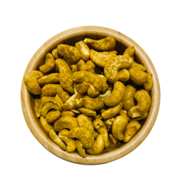 Safran and Family Geröstete Cashewkerne mit Curry Geschmack 300g